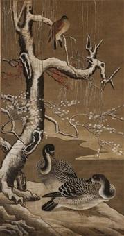 双栖图 by jiao bingzhen