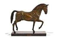 cheval au pas by casto solano