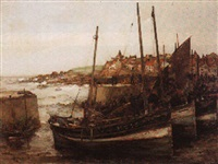 the rising tide, st. monans by arthur macdonald