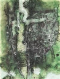 komposition i grönt by rajmund ziemski