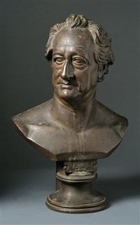 Goethe büste rauch