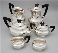 kaffee-/teeservice (model chateau) (set of 6) by jezler (co.)