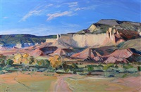 ghost ranch, late afternoon by louisa mcelwain