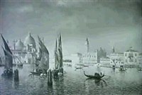 grand canal, venice by w. livingston anderson