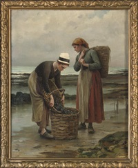 the mussel gatherers by louis laurent