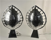 sconce lamps (2 works) by arthur court