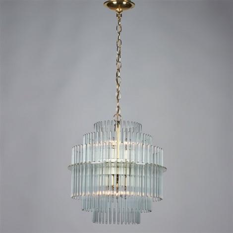 Tiered glass rod chandelier by gaetano sciolari on artnet tiered glass rod chandelier by gaetano sciolari audiocablefo