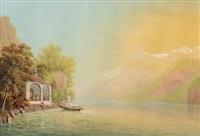 tellskapelle by johann heinrich bleuler the younger