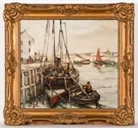 pittenweem harbour by arthur macdonald