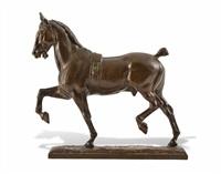 cheval au trot by pierre nicholas tourgueneff