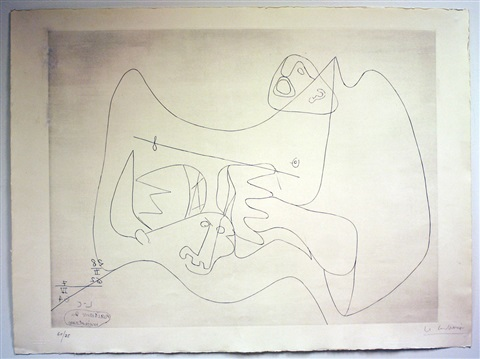 birth of minotaure i by le corbusier