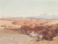 late winter near dalry, ayrshire by george houston
