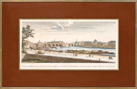 french gardens and views of paris 10 works various sizes by anonymous french 18