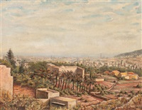 barcelona desde pedralbes by ramon rogent