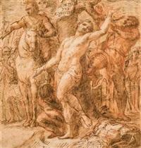 der heilige sebastian by jacob frey
