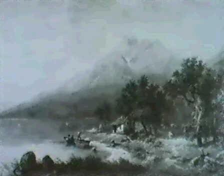schweizer alpensee by wilhelm porttmann