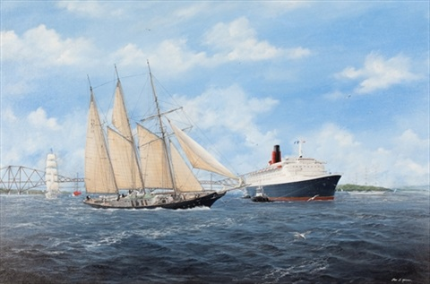 tall ships on the forth by john j holmes
