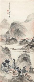 sailing in autumn by chen shuaizu