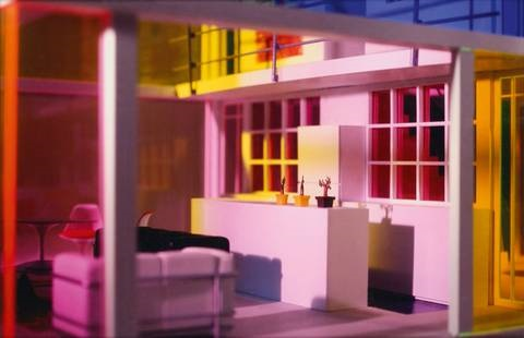 kaleidoscope house # 1 by laurie simmons