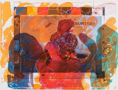 surtsey dinner portfolio of 18 by dieter roth