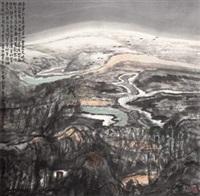 今宵别梦寒 (landscape) by liu zhongyuan
