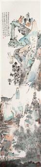 五谷山居图 (landscape) by liu zuan