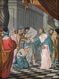 bibelske motiver (2 works) by johann jacob bruun