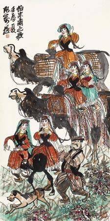 帕米尔之歌 (figures) by a wan ti