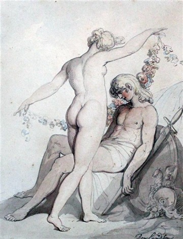 venus and adonis by thomas rowlandson