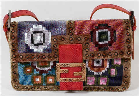 fendi beaded shoulder bag 6 x 9 34