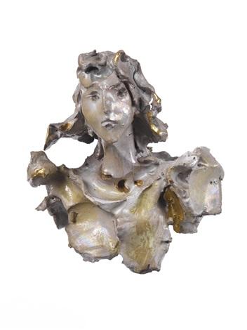 ritratto femminile by lucio fontana