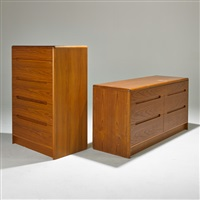 dressers (2 works) by christian linneberg