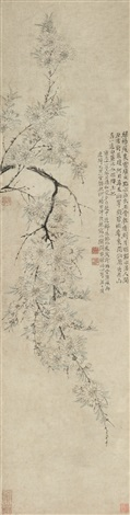 碧桃 peach blossom by wang shishen