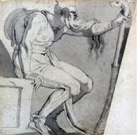 prophet after michelangelo by henry fuseli