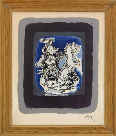 hélios v by georges braque