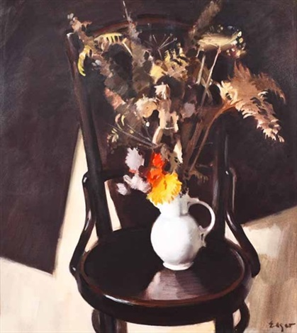 still life with jug by norman edgar