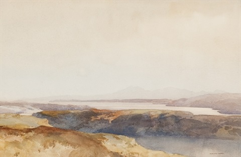 arran and the cylde from shandon by william russell flint