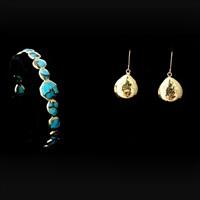 bangle (+ earrings; 2 works) by ippolita (co.)