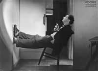 dylan thomas, vogue studio by lee miller