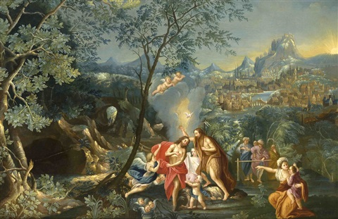 Die Taufe Jesu By Adam Elsheimer On Artnet