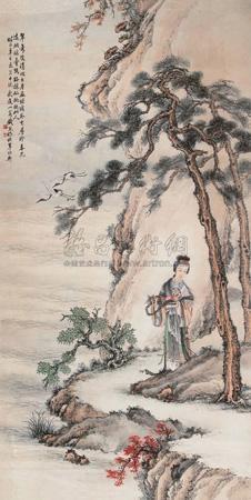 人物 figure by qian xiong