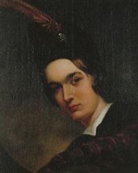 porträtt av yngling by joaquin garteyn de anduaga