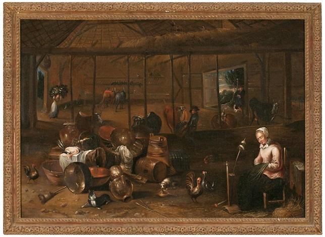 interior by david ryckaert iii