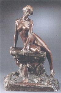 reverie - naken flicka på klippa by jos(eph) m. kratina