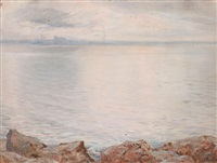 bahía de palma de mallorca by joan fuster bonnin