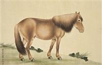 horse by ma jin