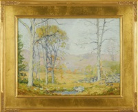 old lyme landscape by james goodwin mcmanus