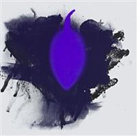 blauer geier by otto piene
