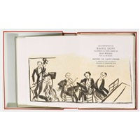 jean witold: concert des anges (bk w/11 works, 4to, + 2 separate suites and 2 additional lithographs) by raoul dufy