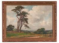 california plein air landscape by anna althea hills